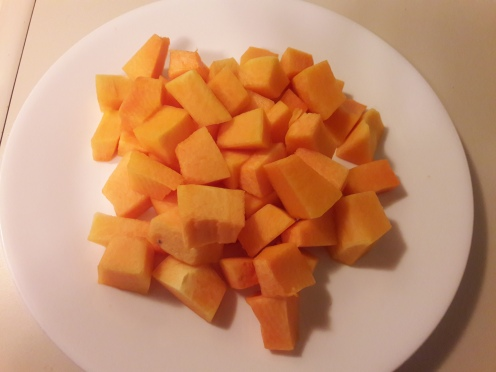 Sweet and Sour Pumpkin Curry 1