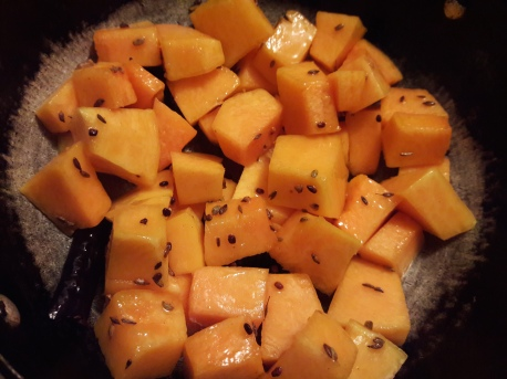 Sweet and Sour Pumpkin Curry 5