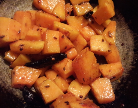 Sweet and Sour Pumpkin Curry 7