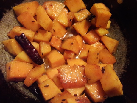Sweet and Sour Pumpkin Curry 8