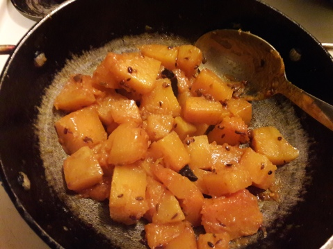 Sweet and Sour Pumpkin Curry 9