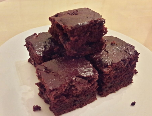 Eggless Chocolate Brownie 13