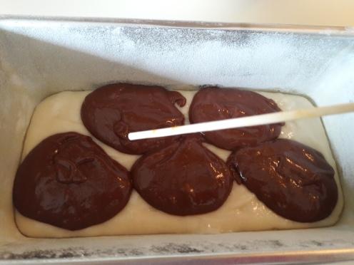 Eggless Marble Cake 23