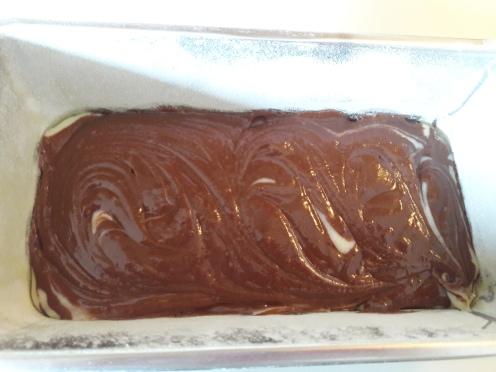 Eggless Marble Cake 24