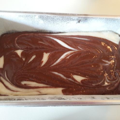 Eggless Marble Cake 26