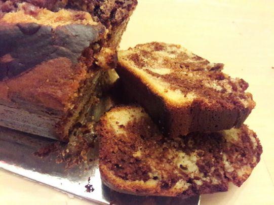 Eggless Marble Cake 30