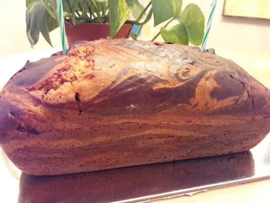 Eggless Marble Cake 31