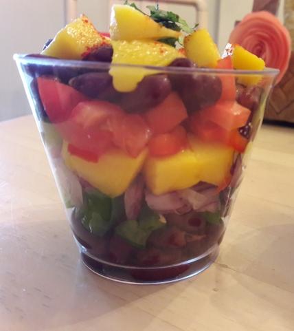 Mango Bean Salsa 3