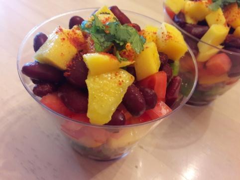 Mango Bean Salsa 5