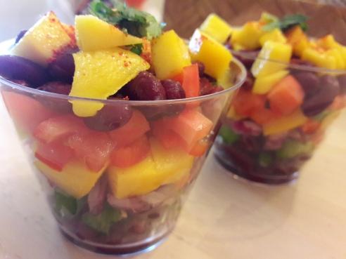 Mango Bean Salsa 7