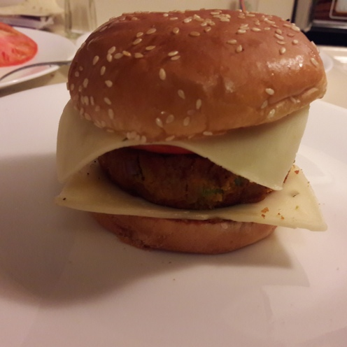 Veggie Patty Burger 22