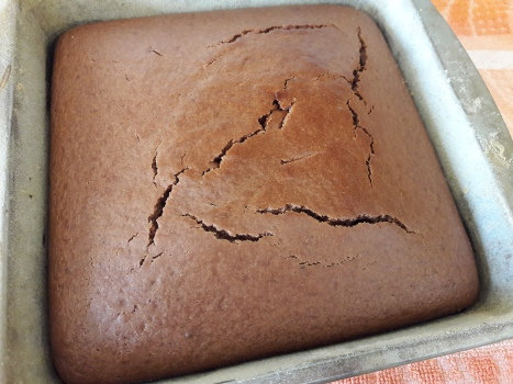 Eggless Chocolate Sponge Cake 14