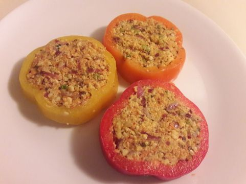 Stuffed Bell Pepper Rings 11