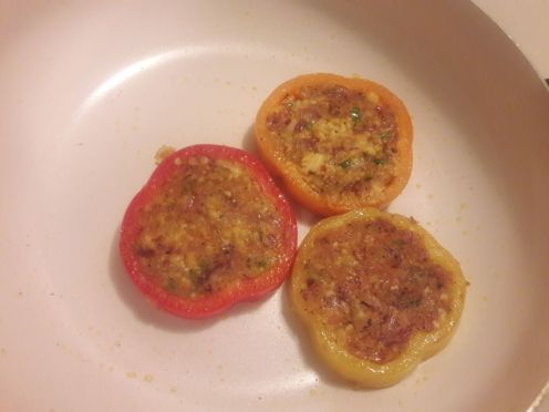 Stuffed Bell Pepper Rings 12