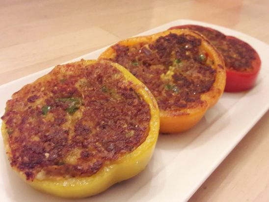 Stuffed Bell Pepper Rings 14