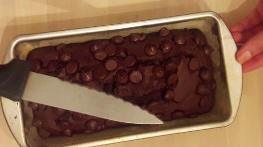 Double Chocolate Banana Cake 19