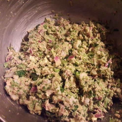 Broccoli and Oats Tiki 11