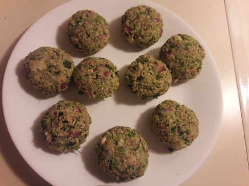 Broccoli and Oats Tiki 12