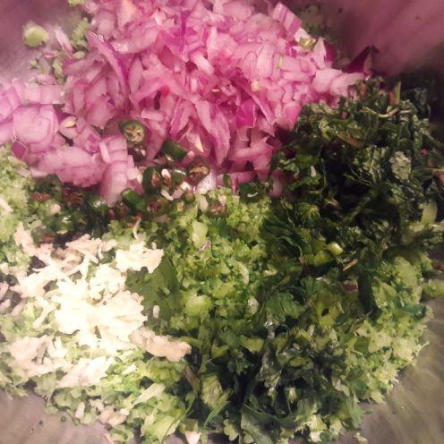 Broccoli and Oats Tiki 4