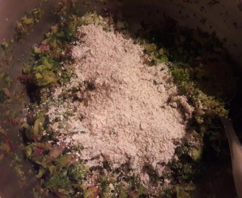 Broccoli and Oats Tiki 9