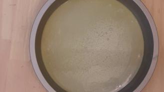 Eggless Upside Down Apple Cake 17