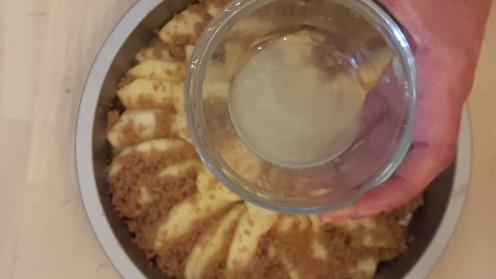 Eggless Upside Down Apple Cake 22