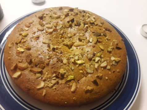 Eggless Mawa Cake 17