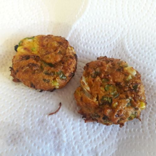 Vegetable Fritters 12