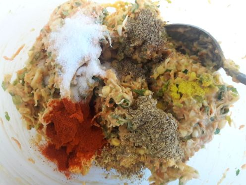 Vegetable Fritters 7
