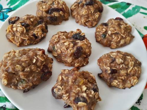 Banana Oats Cookies 13