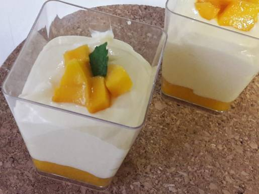 Eggless Mango Mousse 6
