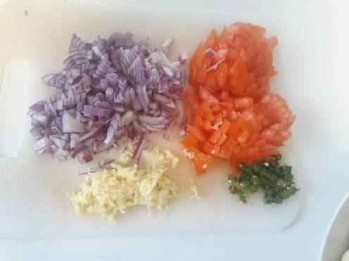 Mushroom and Capsicum Curry 2