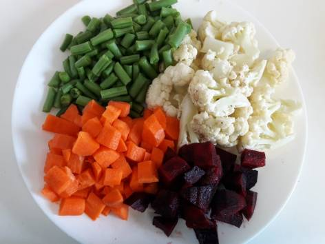 Vegetable Kabab 1