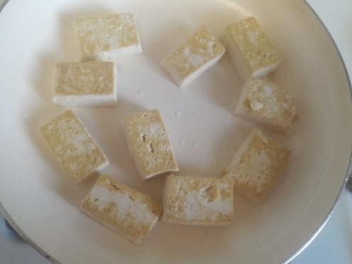 Broccoli and Tofu Stir fry 11