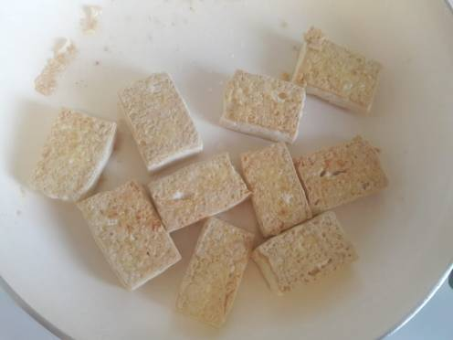 Broccoli and Tofu Stir fry 12