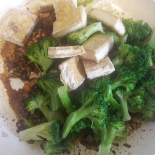 Broccoli and Tofu Stir fry 17
