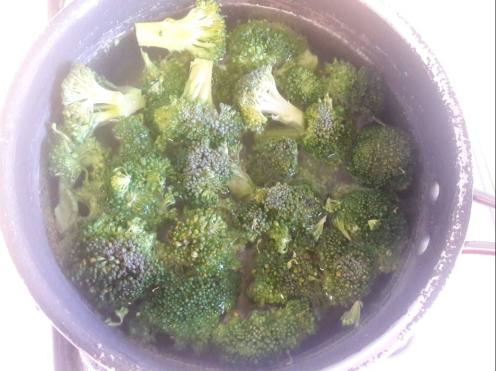 Broccoli and Tofu Stir fry 6