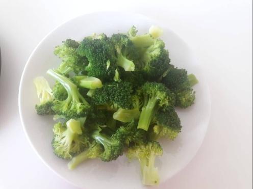 Broccoli and Tofu Stir fry 8