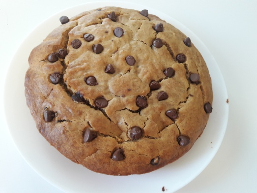 Eggless Chocolate Chip Banana Cake 15