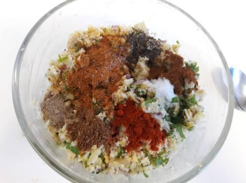 Cauliflower Tawa Kebab 12