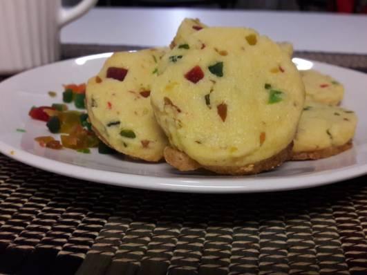 Eggless Tutti Fruity Cookies 15
