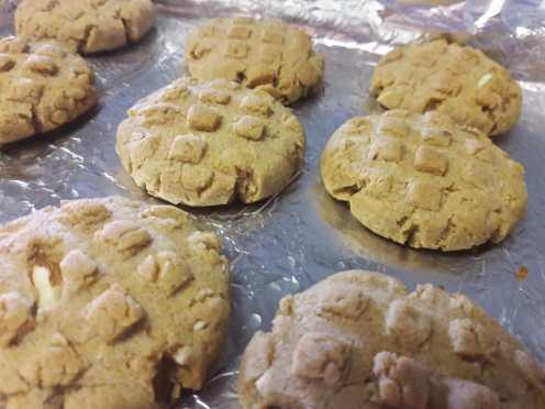 Almond Honey Cookies 10