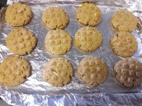 Almond Honey Cookies 9