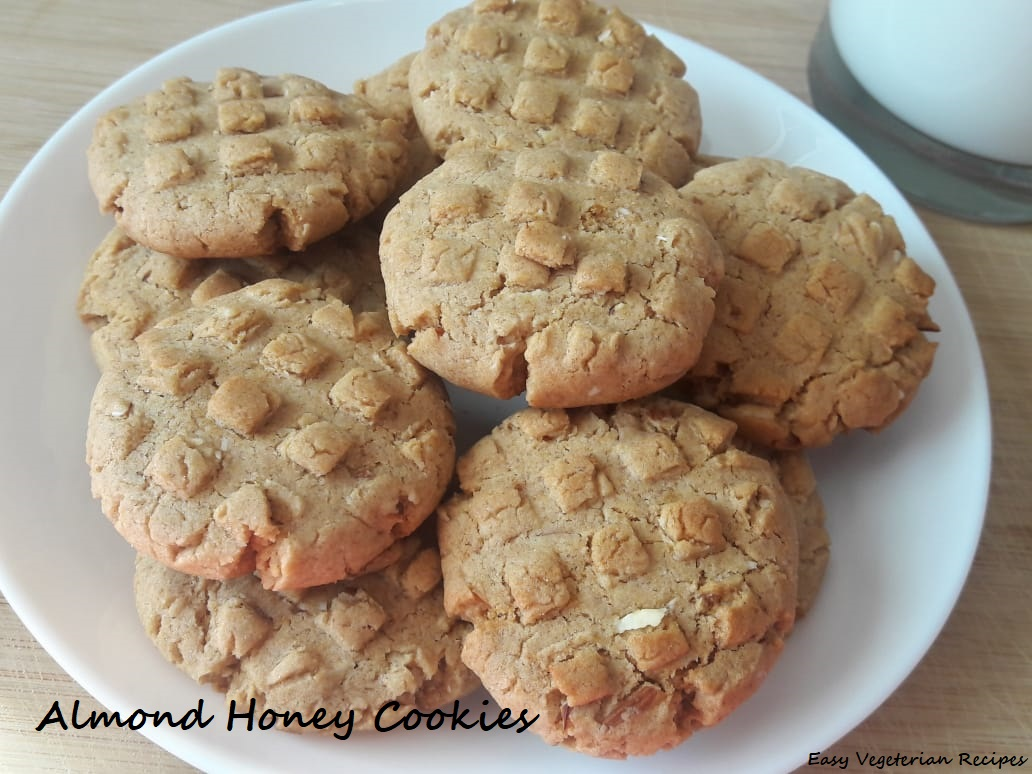 Almond Honey Cookies pic